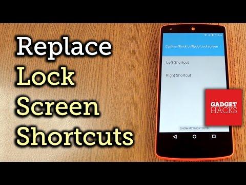 Get Custom Lock Screen Shortcuts on Stock Lollipop [How-To]
