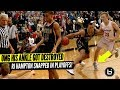 OMG HIS ANKLE GOT DESTROYED RJ Hampton Snapped In Playoffs