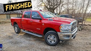 We Finish Rebuilding a Wrecked 2019 Ram 2500.