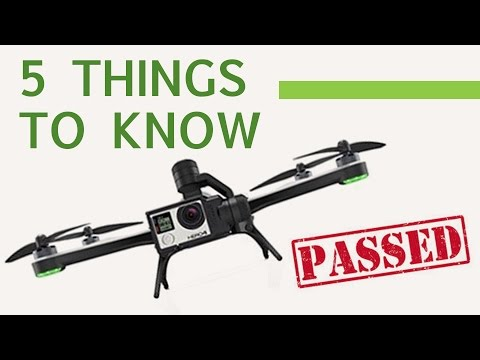 THE DRONE TEST BASICS: Info you need to know to be an official commercial drone pilot in the US