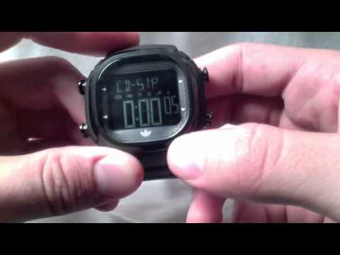 Adidas Seoul Watch Review & How to Operate an Adidas Watch