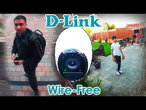 D-Link Wire Free Camera Kit Install SetUp & Real Review!