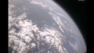 The Sun is close. Rocket launch 71,6km - Natural sounds.
