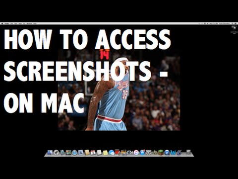 Tutorial - How To Access Your Minecraft Screenshots On A Mac