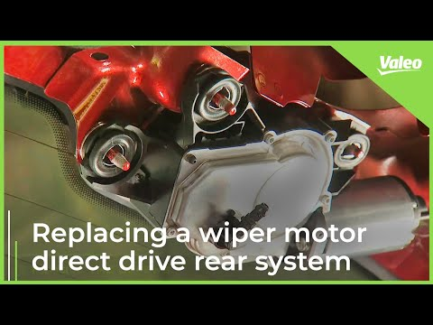 Replace a Valeo wiper motor direct drive rear system easily!