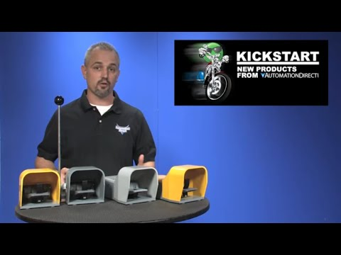 Foot Switches with Metal Guards KickStart
