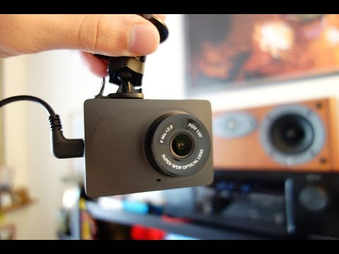 YI compact dash cam review - Car dashboard camera - By TotallydubbedHD