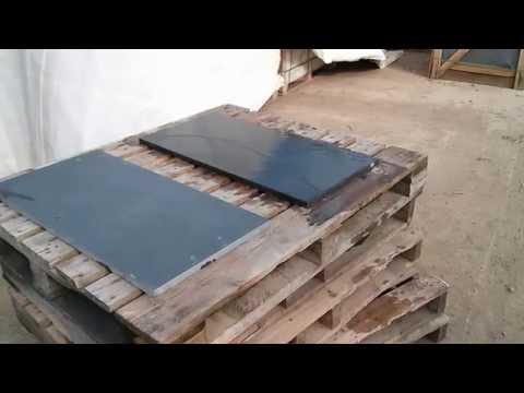 Brazilian Slate Paving - Dry and wet