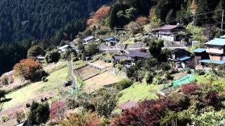Minako y(龍樹) 音のスケッチ14∞ 天空の集落 栃本、秩父路の秋