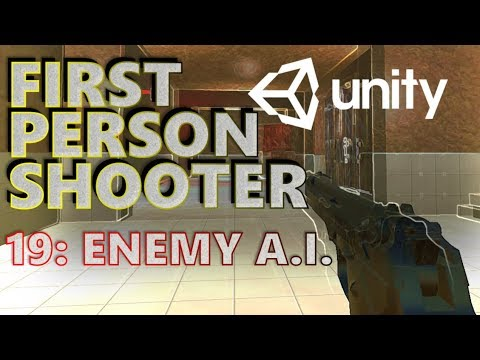 How To Make An FPS In Unity Tutorial - Beginners - Part 019 - Enemies & AI