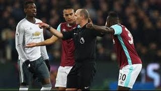 West Ham vs Manchester United 0--2  Highlights 02/01.2017
