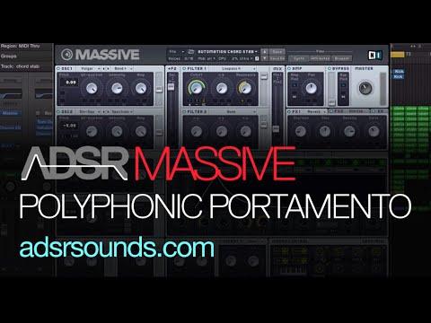 NI Massive - Polyphonic Portamento - How To Tutorial
