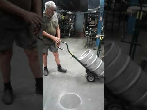 How To Use KegSafe Beer Keg Trolley