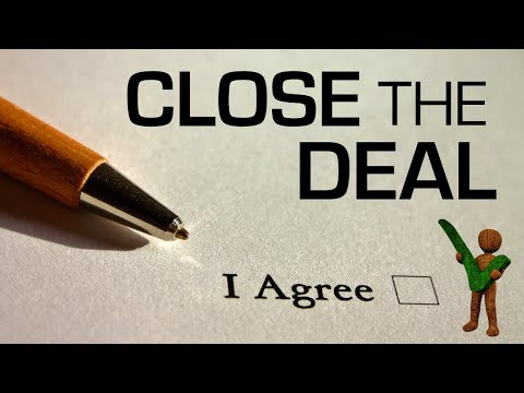 Closing Sales  | How to Close a Deal or New Client - Shockingly Simple Sales Tips