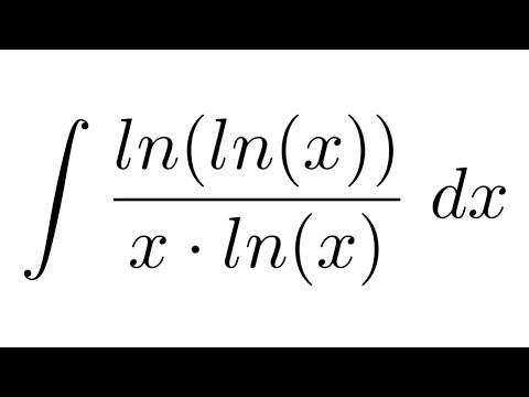 Integral of ln(ln(x))/(x*ln(x)) (substitution)