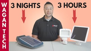 Comparing Solar LED Floodlights for Outdoors