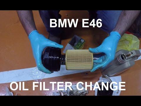 BMW E46 Oil Filter CHANGE   M54 ENGINE   2.5 L   192 HP    DIY