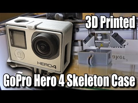 3D print your own GoPro cases and save time & money