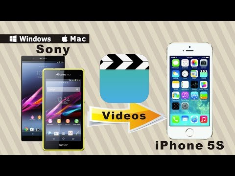 [Sony to iPhone 5S: Videos Transfer] How to Copy Video Files from Sony to iPhone 5S?