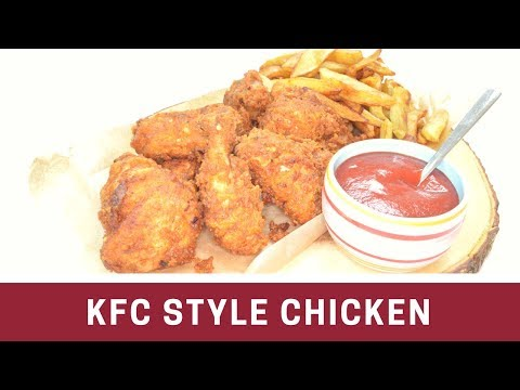 How to make KFC Style Chicken   Southern Fried Chicken Homemade   Indian Cooking    Cook with Anisa