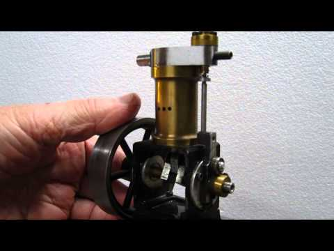 Piston Valve Style Compressed Air Engine