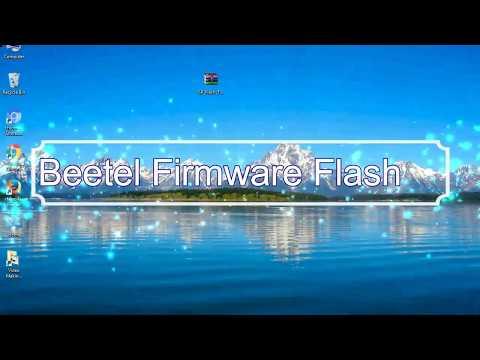 How to Flashing Beetel firmware (Stock ROM) using Smartphone Flash Tool