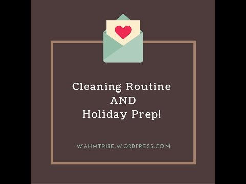 Week 1 Holiday/Cleaning Challenge