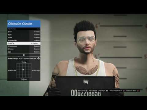The character of the boy | GTAV5