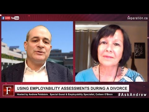Ask Andrew Show: S3E8 | Using Employability Assessments During A Divorce