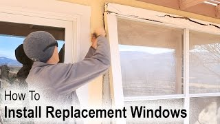 How to Install A Replacement Window On A House With Wood Siding
