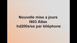 2018 FAVORIS HD LISTE 200S TÉLÉCHARGER F402 ATLAS