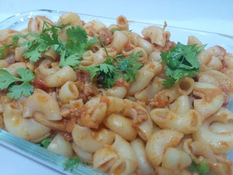 Minced Meat Macaroni Pasta - Simply FoodMad Express