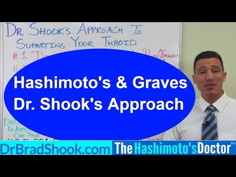 Dr. Shook's Approach to Hypothyroidism (high TSH), Hashimoto's Disease, and Grave's with Nutrition