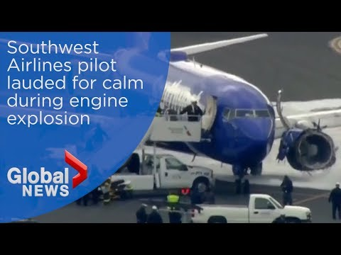 Audio from Southwest Airlines emergency landing captures air traffic controller's disbelief