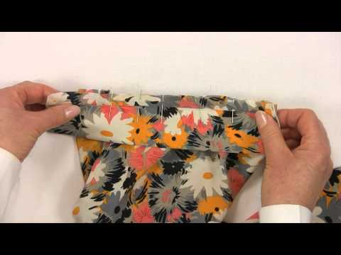 Sewing - How to Make a Shirt  - Part 10 - Attach the Cuff