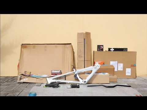 Bike build film - Dream Slopestyle jump bike - Canyon stitched 720