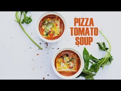 Pizza Tomato Soup Recipe | Easy & Quick Tomato Soup Recipe