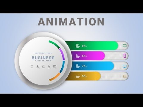 Learn ANIMATION | Business Workflow Diagram Infographic in Microsoft Office PowerPoint PPT