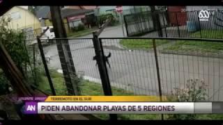7.7 Earthquake in Chile Triggers Tsunami Warning (VIDEO)