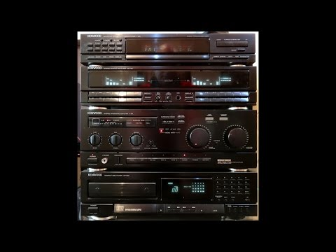 Kenwood a-93 DAC receiver,  for 25 years my loyal setup, never let me down