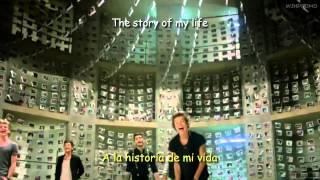 Story of my life one direction Lyrics español ingles (Video Oficial )