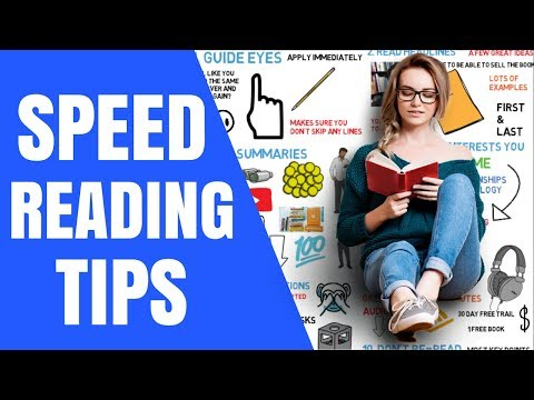 11 Secrets to Speed Reading - How to Read Faster and Increase Comprehension