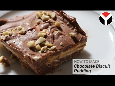 How To Make Chocolate Biscuit Pudding