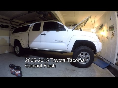 2005 - 2010 Toyota Tacoma Coolant Change Tutorial