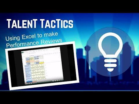 Performance Review using Excel