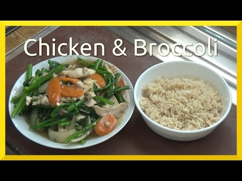 How to Cook Chicken and Broccoli in Oyster Sauce
