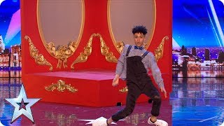 Shameer Rayes brings ALL of the moves to our stage!   Auditions   BGT 2018