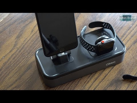 Oittm Apple Watch and iPhone Charging Stand Review