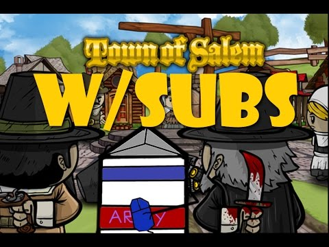 Town of Salem W/Subs | Surprise Jailor | Who to Jail | Epic Jailor Reads