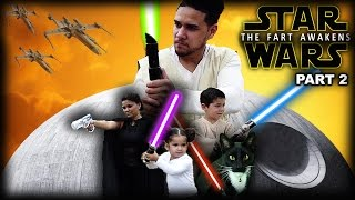 Most Epic Star Wars Parody! The Fart Awakens Part 2